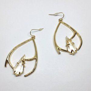 NWOT Alexis Bittar Crystal Drop Earrings